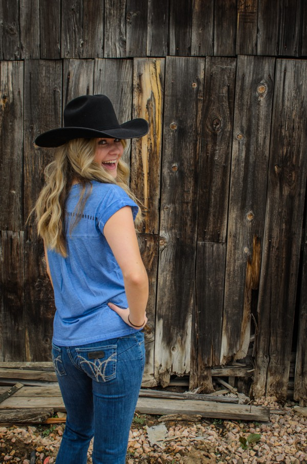 Wrangler Sadie jeans are a great choice for the rodeo!