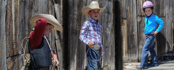Preview of Kids' Rodeo outfits coming in July!