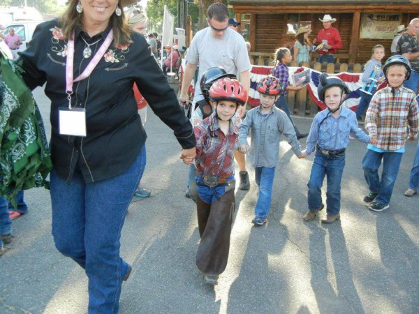 Mutton Bustin' at the Ogden Pioneer Days Rodeo