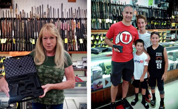 Faye and Matt took home a FREE gun each! Thanks to H&K and Springfield Armory for sponsoring these awesome giveaways.