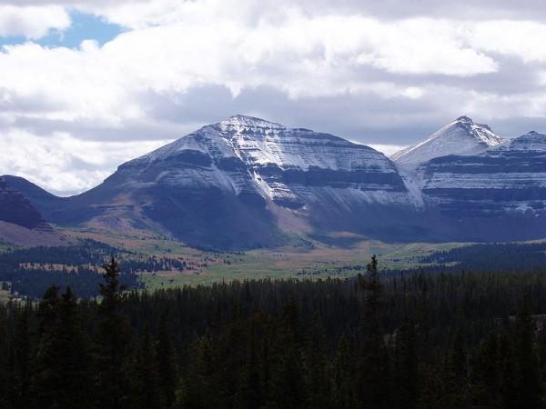 King's Peak, the highest point in Utah