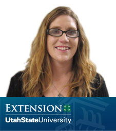 Alicia Teuscher with USU Extension - Weber County 4-H