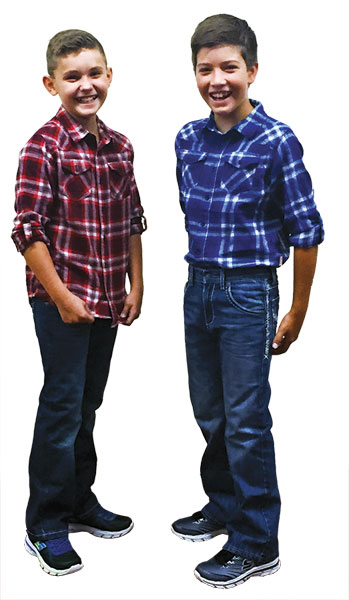 Plaid boys' shirts for back to school