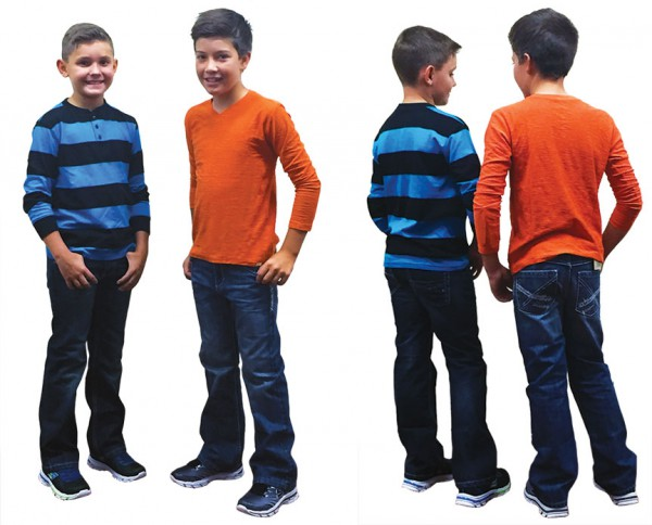 Striped boys shirts for Back to School