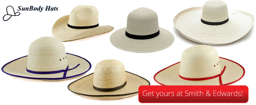 Get your own Sunbody hat at Smith & Edwards!