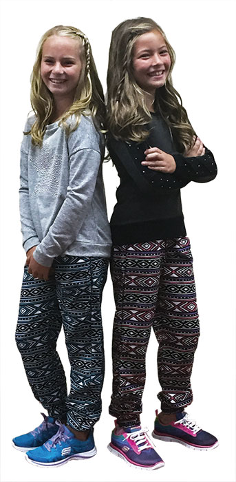 Aztec Pants for Girls Back to School