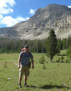 Mike Vause in the Uintas