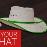 How to shape a Palm Leaf Cowboy Hat