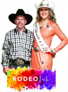 Ron Hansen with Rodeo Ink