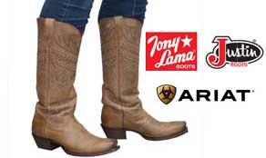 Get her Ladies' cowboy boots