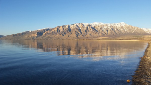 Willard Bay and Willard Peak - photo by Curtis Carter