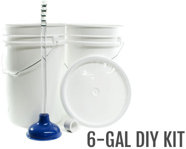 6-Gallon DIY Washing Machine Bucket kit