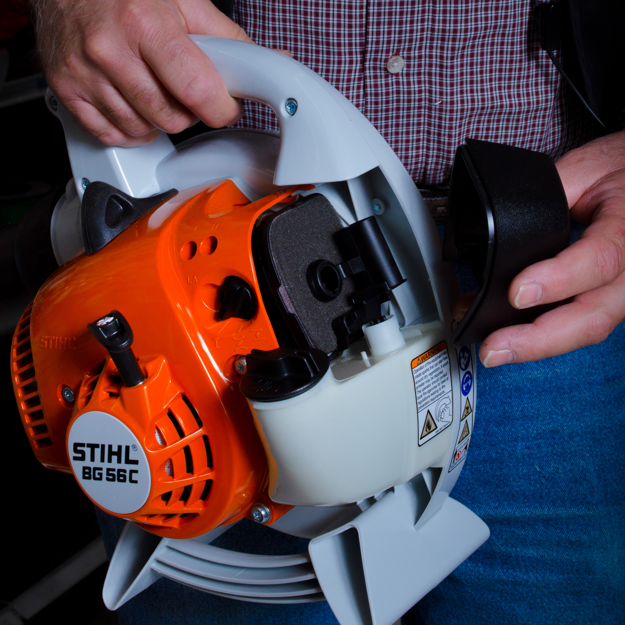 Air Filters For Blowers : Stihl gas powered leaf blower questions smith edwards