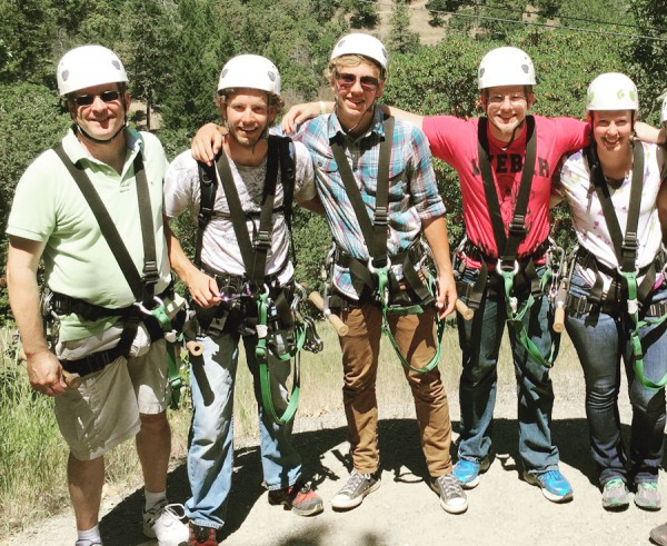 Ziplining in Oregon - Lauren's Summer Adventure