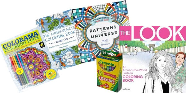 Adult Coloring Books at Smith & Edwards - plus 99-cent crayons!