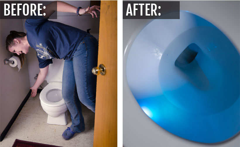 Don't fall in! Let the Illumibowl light your way!