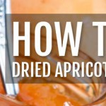 How to make dried apricots & apricot freezer jam