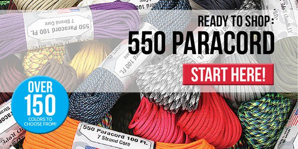 Click here to check out our HUGE collection of Paracord!
