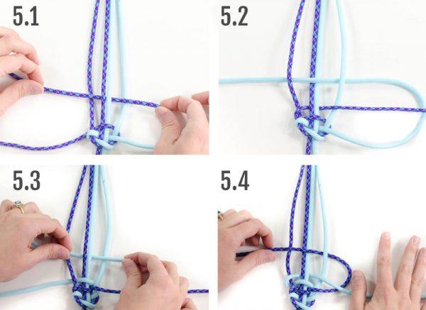 Weaving the Boa Bracelet