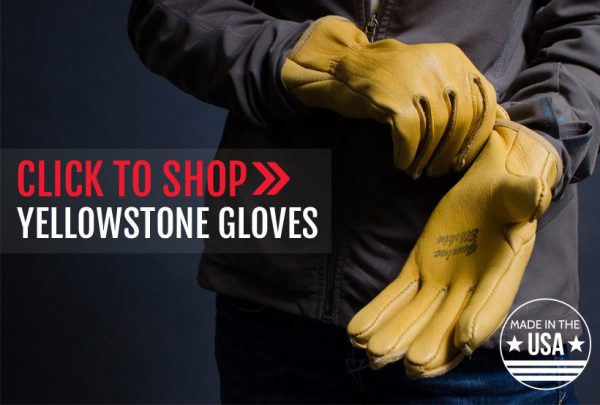 Click to shop Yellowstone gloves