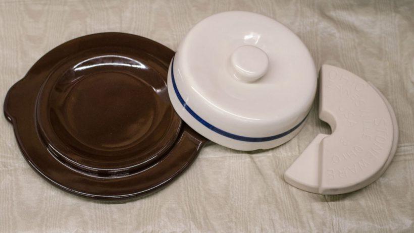Pickling & Fermentation crock lids and weights