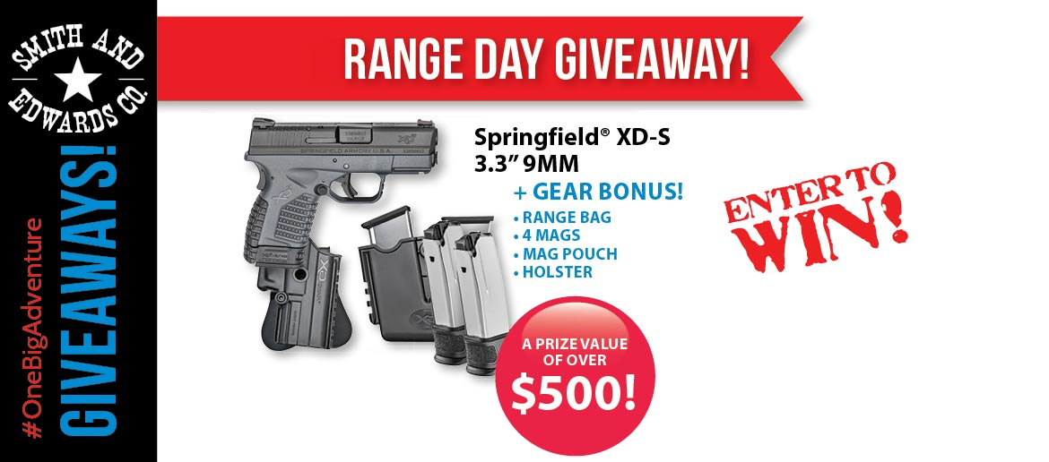 Springfield Giveaway for Range Day 2017