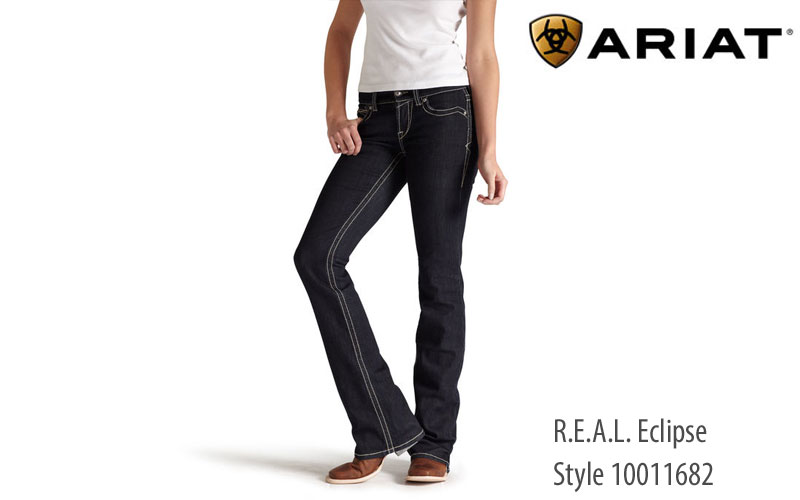 Ariat women's REAL Eclipse bootcut jeans