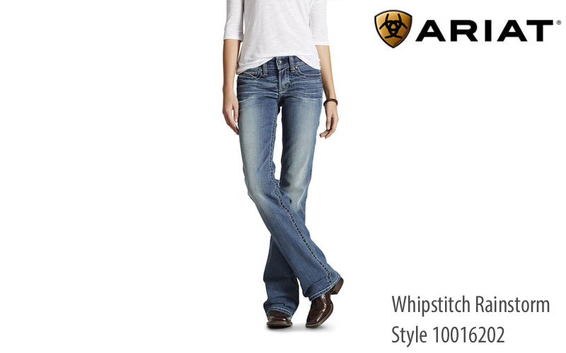 Ariat Whipstich Rainstorm Women's Relaxed Fit Jeans