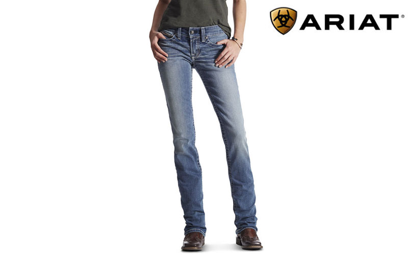 Ariat women's straight leg jeans REAL 10017217
