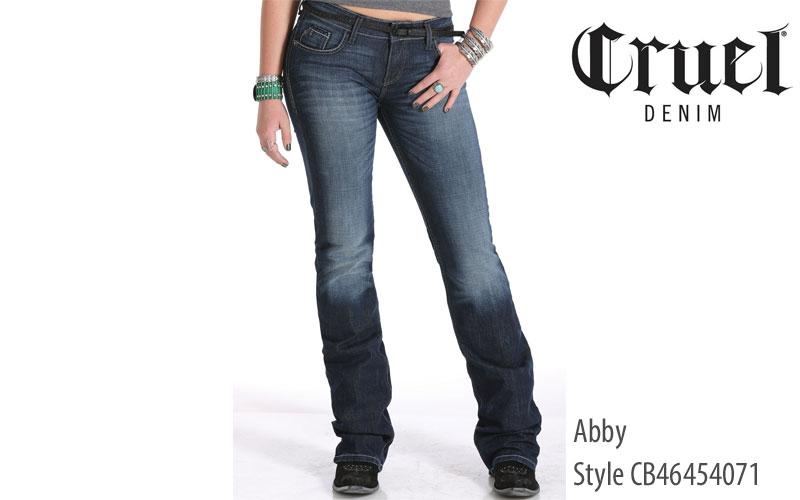 Cruel Abby women's bootcut jeans