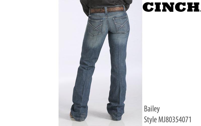 Cinch Bailey women's low rise jeans