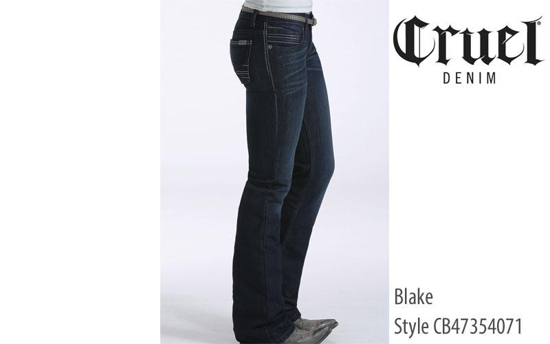 Cruel Blake women's low rise jeans