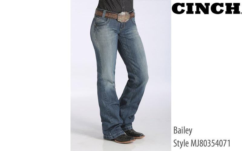 Cinch Bailey MJ80354071 straight leg women's jeans