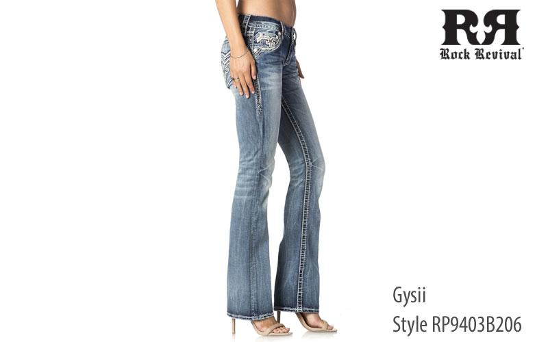 Rock Revival women's Gysii bootcut jeans