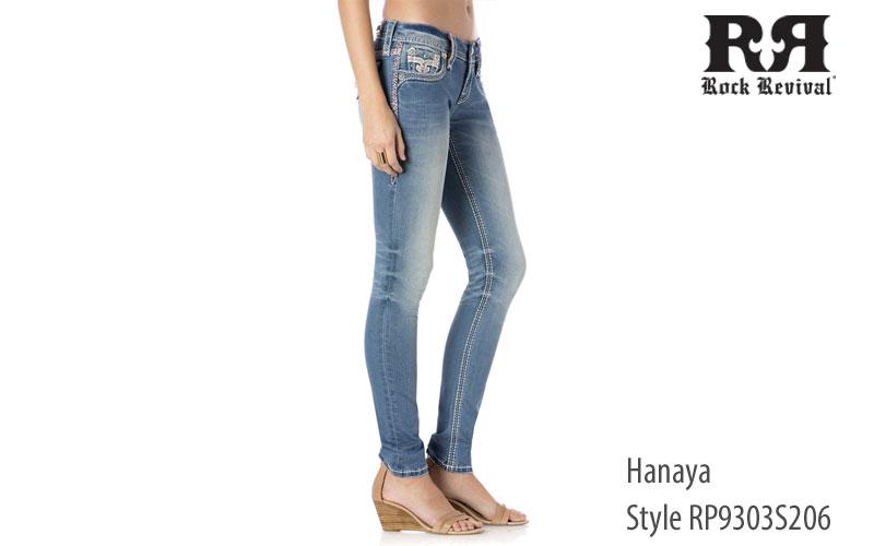 Rock Revival women's Hanaya low rise jeans
