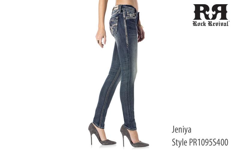 Rock Revival women's Jeniya low rise jeans