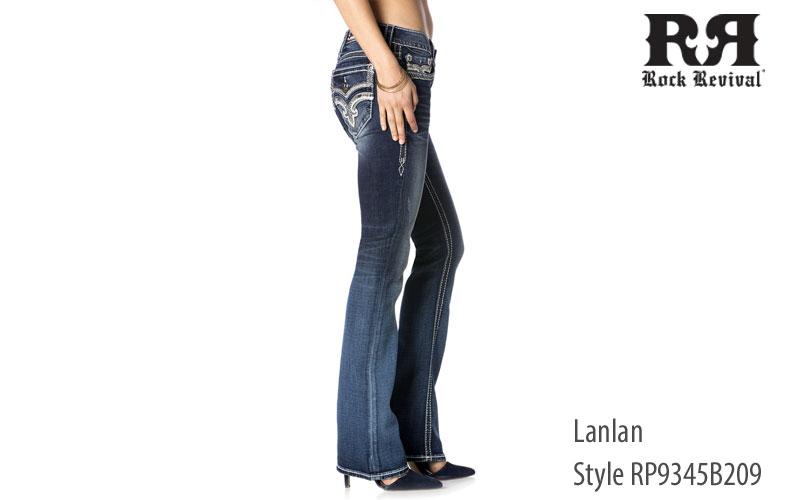 Rock Revival women's Lanlan low rise jeans