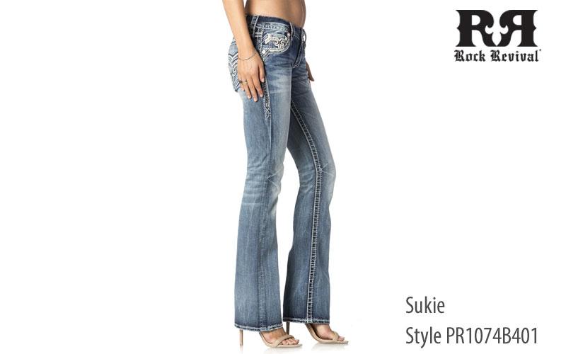 Rock Revival women's Sukie low rise jeans