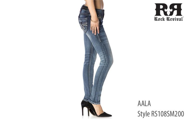 Rock Revival women's Aala midrise jeans