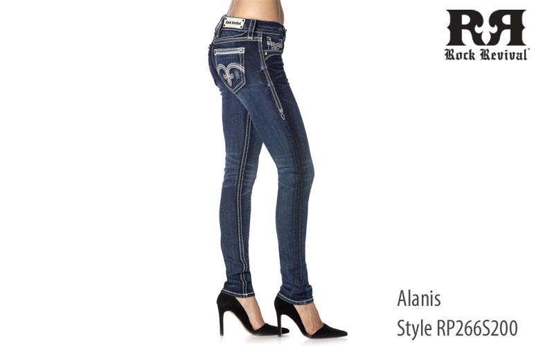 Rock Revival Women's Alanis Skinny Jeans