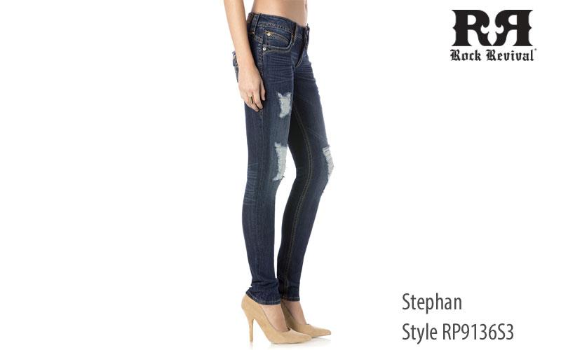 Rock Revival Women's Stephan Skinny Jeans