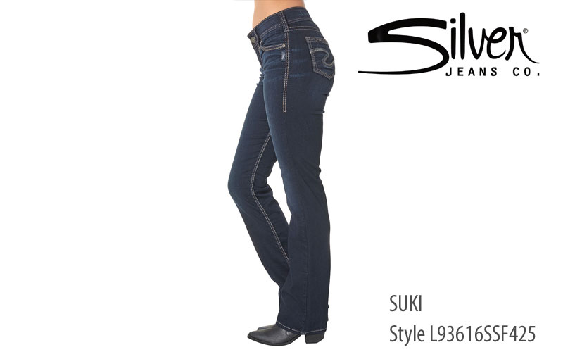 Silver Womens' Suki Relaxed Fit jeans