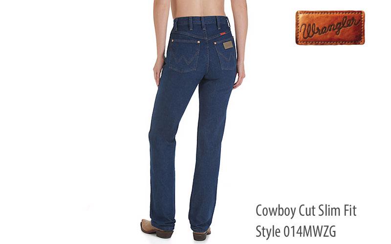 Wrangler 014MWZG straight leg women's jeans