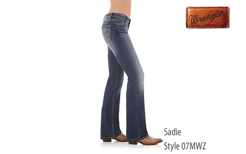 Wrangler women's Sadie low rise jeans