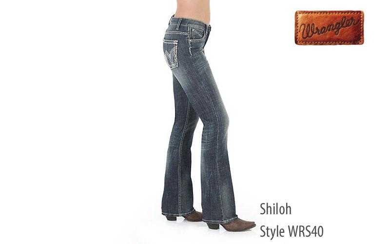 Wrangler women's Shiloh low rise jeans