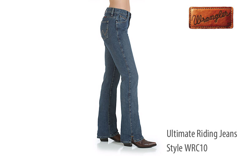 Wrangler women's WRC10 Cash riding bootcut jeans