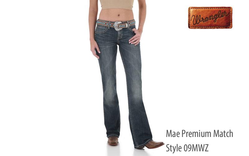 Wrangler women's 09MWZ Mae bootcut jeans