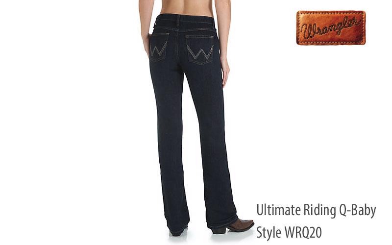 Wrangler Q-Baby women's regular fit jeans