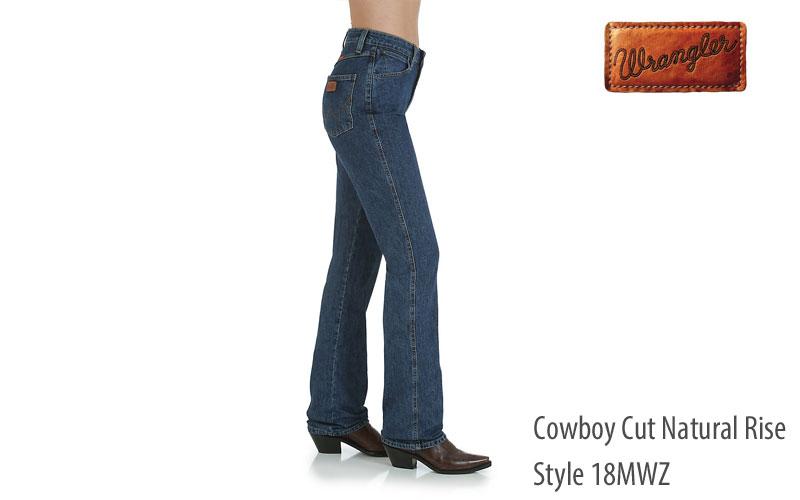 Wrangler womens cowboy cut slim fit jeans