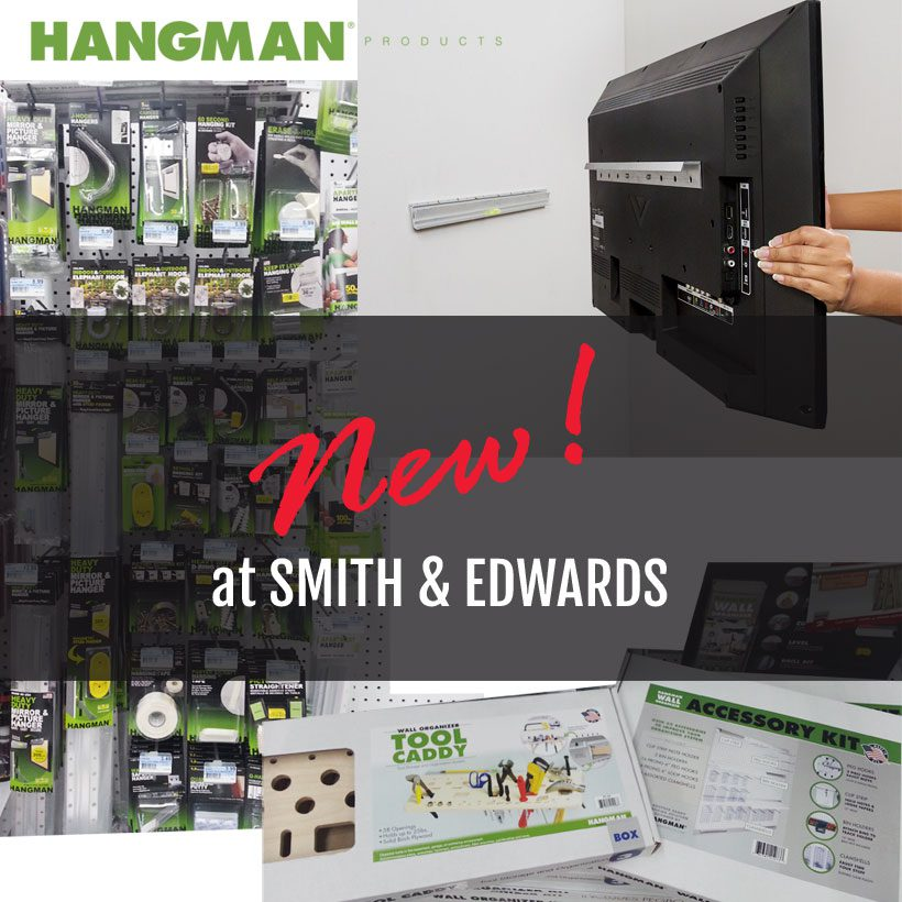 Check out Hangman Products, now at Smith & Edwards!